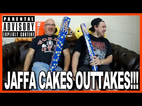Jaffa Cake Challenge w/Harry OUTTAKES! • STRONG LANGUAGE ALERT!!!