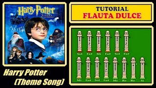 Harry Potter Theme en Flauta Dulce
