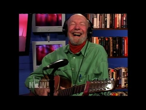 """We Shall Overcome"": Remembering Folk Icon, Activist Pete Seeger in His Own Words & Songs"