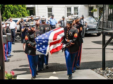 Return Home of Tarawa Marine Pvt Emil F. Ragucci