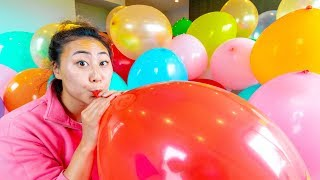 I FILLED HIS ROOM WITH BALLOONS!!