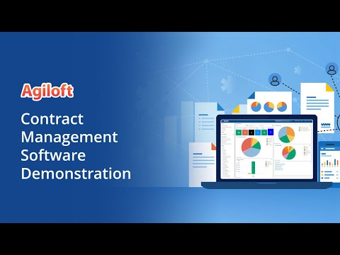 Contract Management Software Demonstration By Agiloft