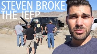 STEVEN BREAKS THE JEEP - THE PERKINS 2015