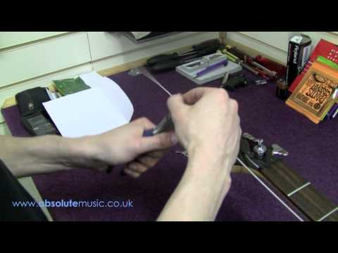Absolute Music: How to string a bass guitar