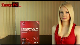 Asus ROG Maximus V Formula Motherboard Overview Unboxing Part 1