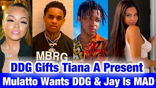 DDG SURPRISES TIANA MUSARRA WITH A GIFT FOR HER B-DAY + MEETS UP WITH YBN JAY'S EX MULATTO