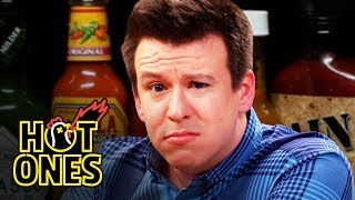Download Philip DeFranco Sets a YouTube Record While Eating Spicy Wings | Hot Ones Mp3 and Videos