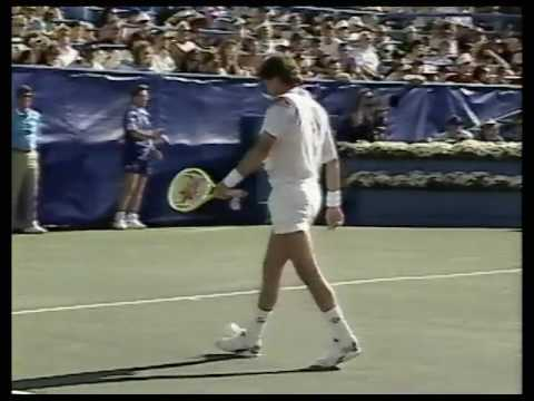 USO 1991 R4 - Connors Vs Krickstein (Part 2)