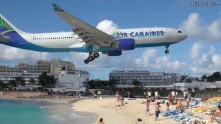 Planespotting SXM - St. Maarten, Maho Beach, Princess Juliana Airport - 24.01.2012