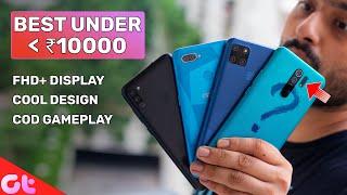 Top 8 Best Mobile Phones Under ₹10000 In Sept 2020 | SABKE BUDGET MEIN | GT Hindi