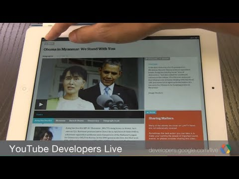 YouTube Developers Live: LinkTV