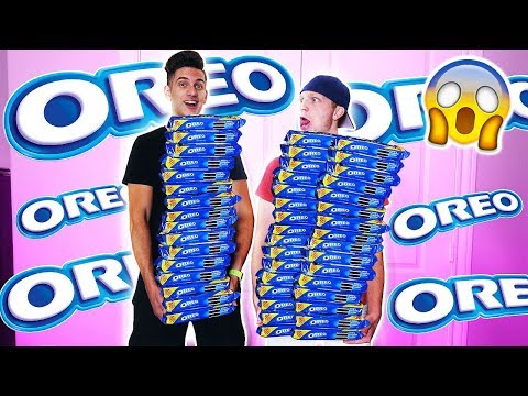 GETTING KICKED OUT OF WALLMART FOR BUYING 1,000 OREOS!
