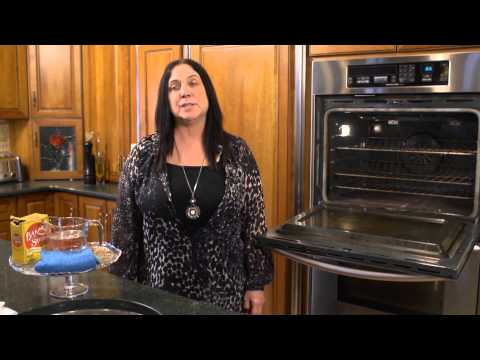 How to Get Tough Grease off of Oven Glass : House Cleaning Tips