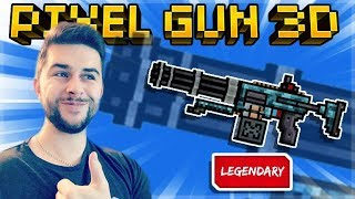 THIS PRIMARY WEAPON IS SHREDDING ALL THE ENEMY PLAYERS HAND MINI-GUN | Pixel Gun 3D