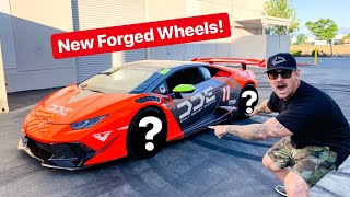 TURBO LAMBORGHINI NEW FORGED WHEEL REVEAL!