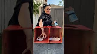 What in the BOX Challenge? Funny Prank MOM! #shorts