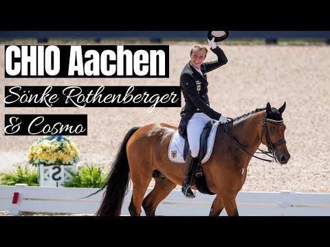 Sönke Rothenberger & Cosmo beim CHIO Aachen   🥇81,37% für die beiden!  CHIO Aachen 2019