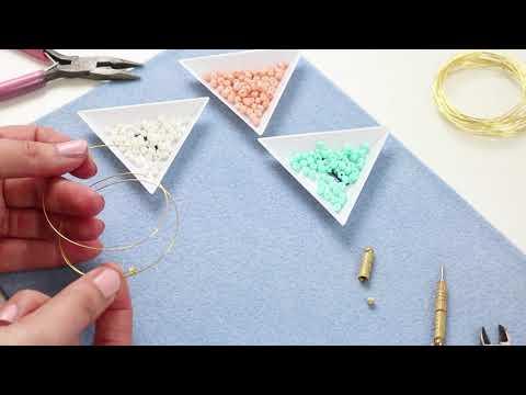 Elaboración de joyería: Alambre Memoria Beadalon ♡ DIY