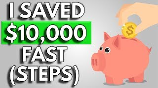 How To Save Money | The Trick I Used To Save $10,000