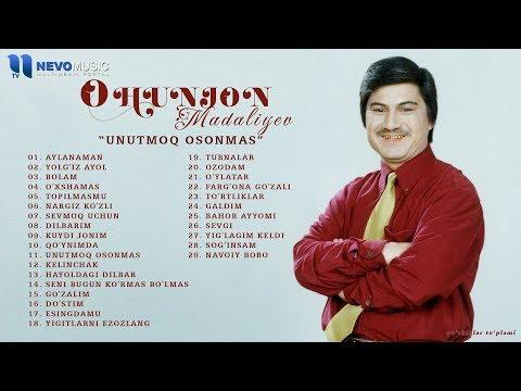 """Ohunjon Madaliyev - """"Unutmoq Osonmas Bizlarni"""" Qo'shiqlar To'plami"""