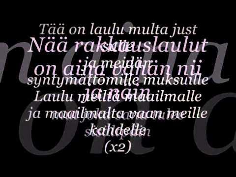 Aste - Rakkauslaulu (Lyrics)