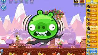 Angry Birds Friends/ SantaCoal i CandyClaus tournament, week 293/1, level 1