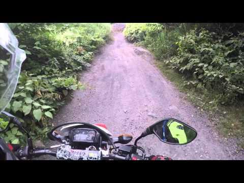 Dual Sport Riding Around Centralia, PA