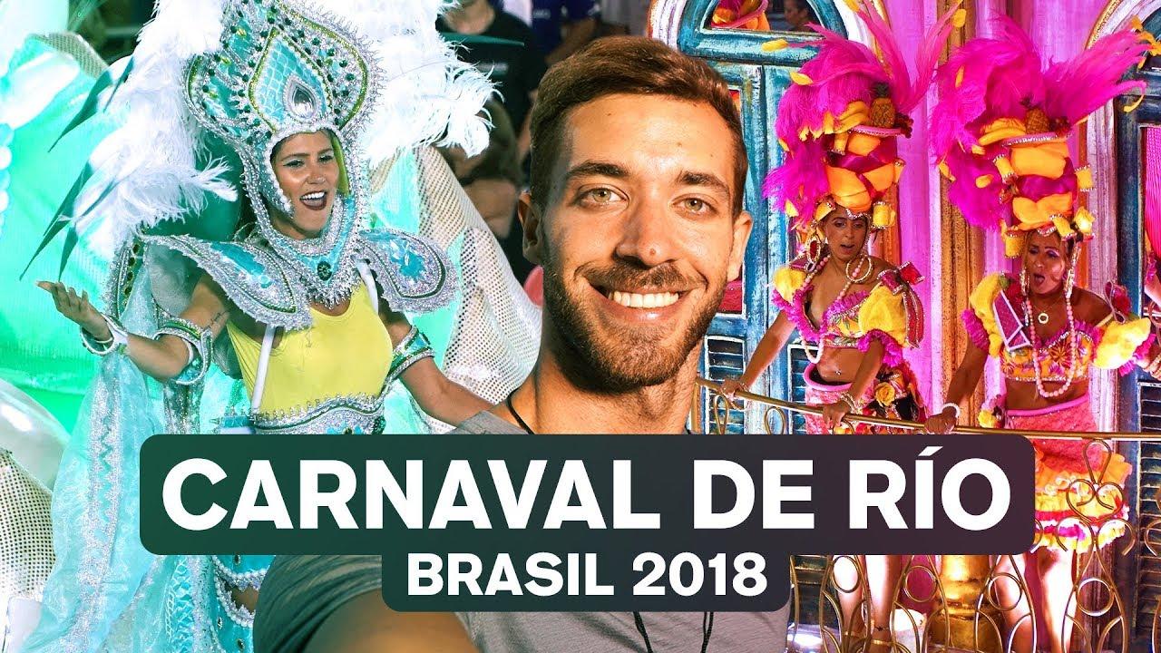 EL CARNAVAL MÁS GRANDE DEL MUNDO: RÍO 2018 (BRASIL) 4K   enriquealex