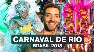 EL CARNAVAL MAS GRANDE DEL MUNDO RIO 2018 (BRASIL) 4K enriquealex