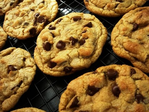Easy Healthy Chocolate Chip Cookies - YouTube