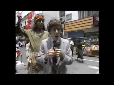 """""""Amazing Foreigners Comedy Spoof"""" with Reporter Frankie Verroca - Japan 1987"""