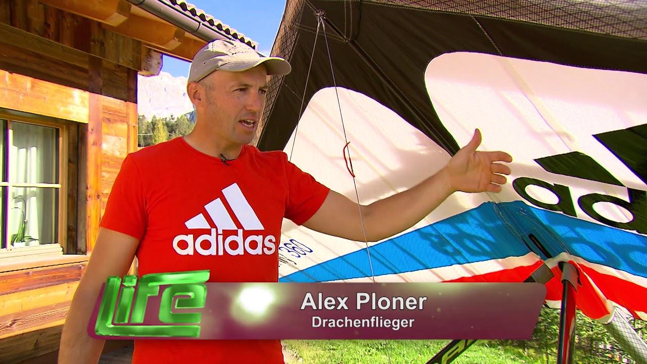 Drachenflugweltmeister Alex Ploner im TV