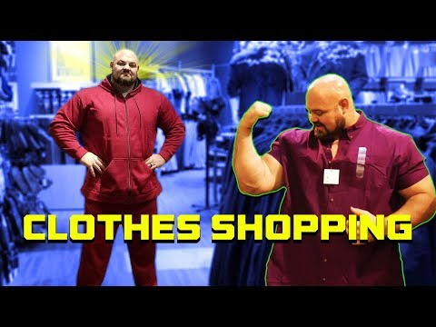 """TRYING TO FIND CLOTHES THAT FIT 