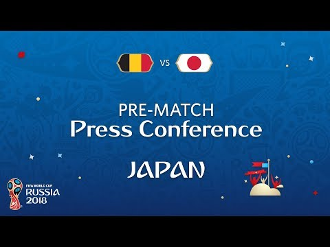 2018 FIFA World Cup Russia™ - BEL vs JPN : Japan Pre-Match Press Conference
