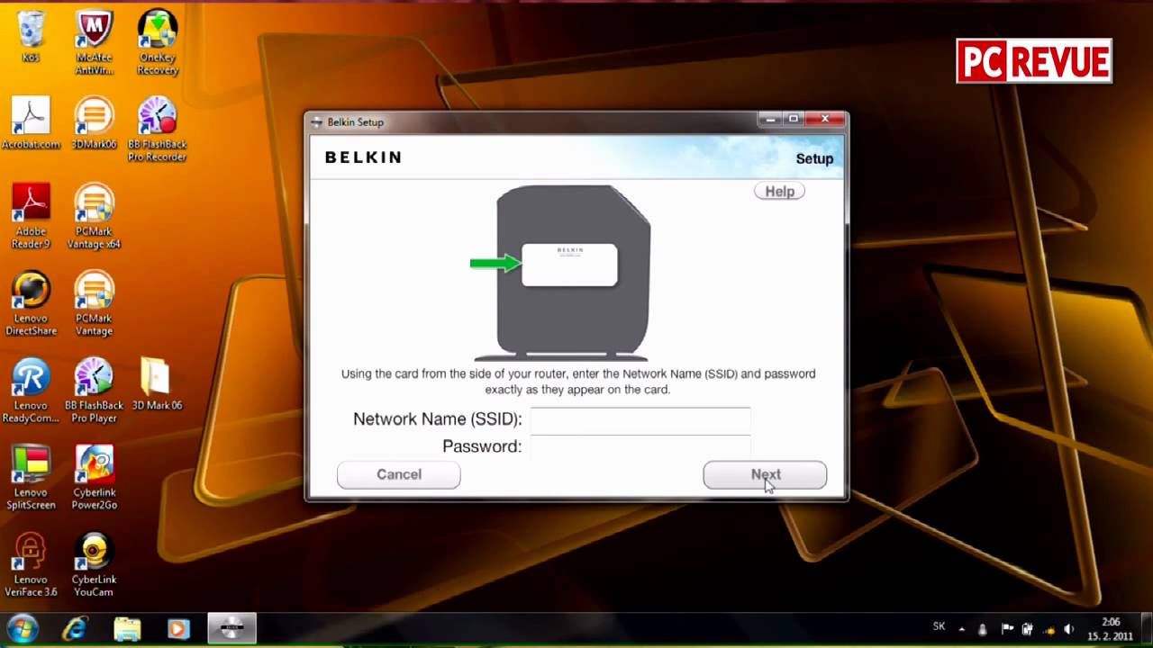 Belkin Share Wireless Router - YouTube