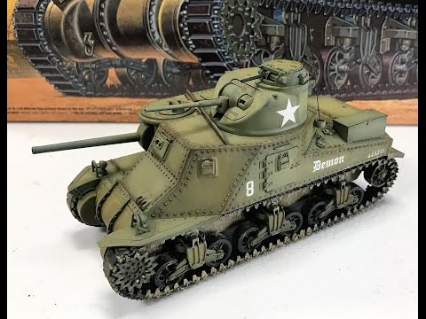 Building the Academy Models M3 Lee Tank plus we try out the new Mission models paint