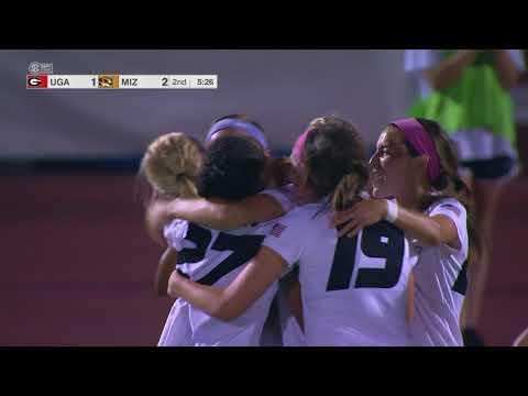 HIGHLIGHTS: Mizzou Soccer Wins SEC Opener