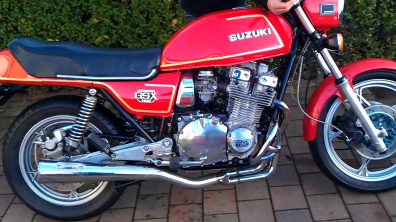 gsx 1100 for sale - youtube