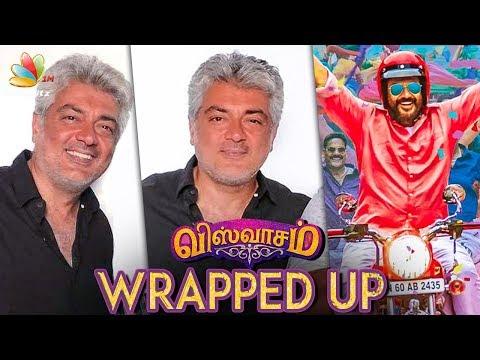 Viswasam Shoot Wrapped up | Ajith Kumar, Nayanthara | Siva | Hot Tamil Cinema News