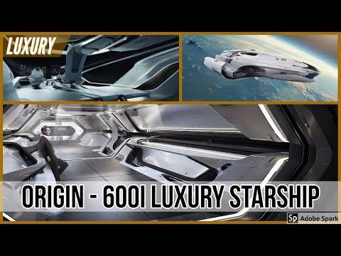 Touring Star Citizen's Most Luxurious Ship! Origin 600i Exploration Space Yacht: Alpha 3.2