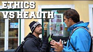 ETHICAL VEGAN VS HEALTH VEGAN | DEBATE/DISCUSSION