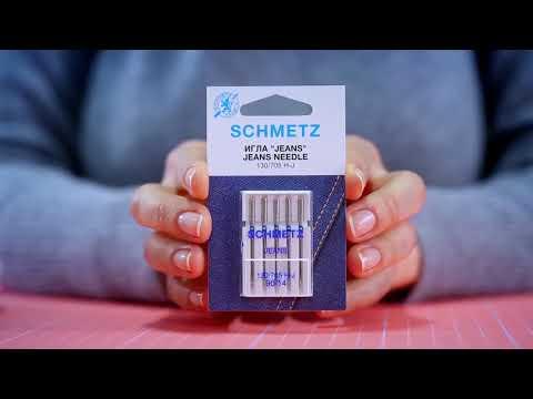 №2 Как читать упаковку игл Schmetz