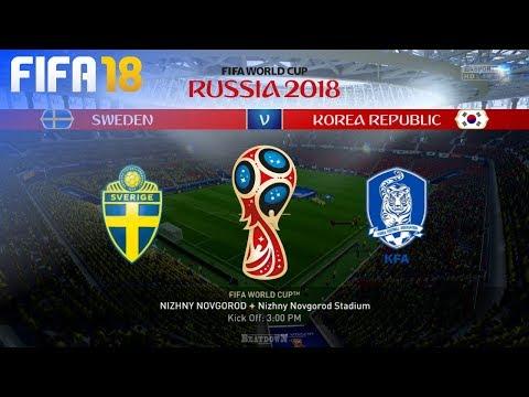 FIFA 18 World Cup - Sweden vs. South Korea @ Nizhny Novgorod Stadium (Group F)