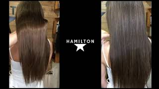 Professional hair extensions in Hamilton