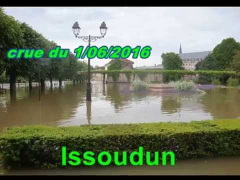 Issoudun crue du 1/06/2016