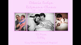 Birth of Baby Ritzmann-Chance | Waterbirth Hospital Transfer | King Edward Memorial Hospital
