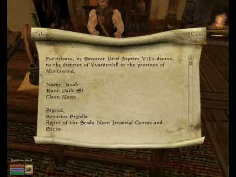 Download Morrowind: The Pick-Up Glitch - A Quick Guide