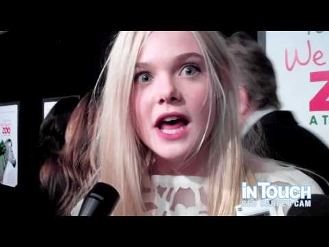 Elle Fanning Talks To In Touch At The 'We Bought A Zoo' Premiere In NYC