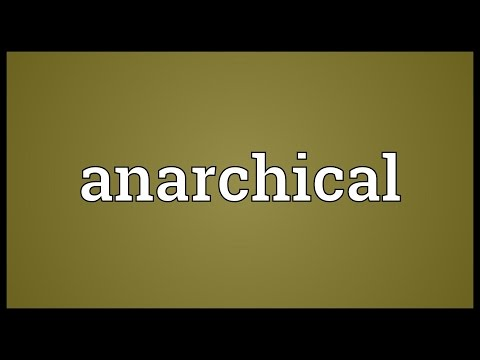 Header of anarchical