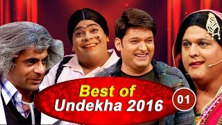 Bollywood Celebrity Interviews | Best of Undekha 2016 | Part 01 | The Kapil Sharma Show | Sony LIV
